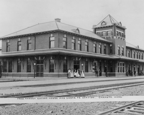 Fred Harvey Eating House and Santa Fe Station, Chanute, Kansas